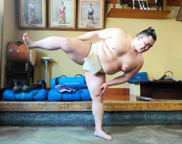 新大関の朝乃山、相撲取る稽古再開「感覚戻しながら磨いていく」