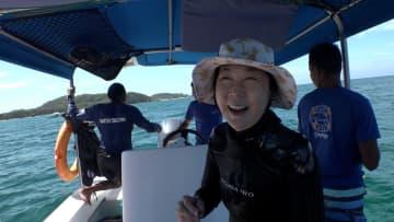 """水中写真家・高橋怜子が自身に課す""""セブンルール""""「遠い先のことは何も考えない」 画像"""