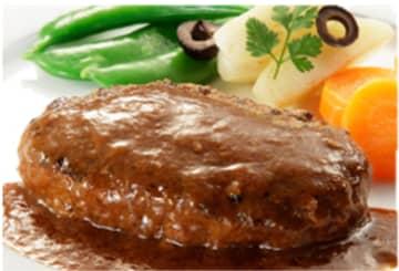 牛たん専門店「利久」の牛たんハンバーグ 6月3日よりスーパーマーケット「ライフ」首都圏の30店舗限定... 画像