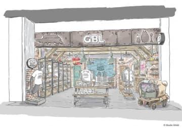 トトロ、もののけ姫、紅の豚のTシャツ!ジブリ作品あしらったアメカジGBLが渋谷に常設店舗