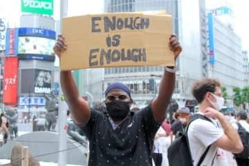 「黒人の命は大切」「もうたくさん」。渋谷に集まった人々が語ったこと