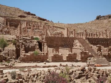 Ancient Petra a ghost town as pandemic hits Jordan tourism
