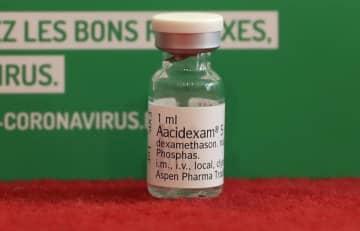 コロナ治療効果の抗炎症薬、1カ月以内に1000万錠供給可能=アスペン