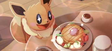 『ポケモンカフェ ミックス』は序盤だけでもカワイイがいっぱい! 目を輝かせるイーブイ、料理を作るヒトカゲ…チャーミングなポケモンたちに癒される