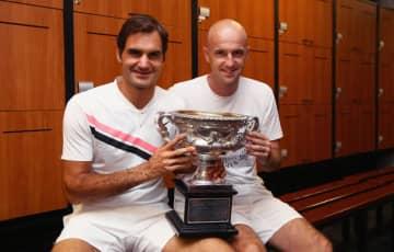 テニスにおけるコーチの励まし効果