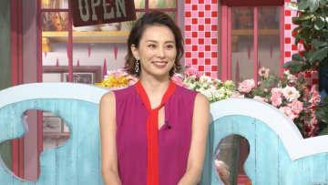 米倉涼子がスタジオに初登場!ロケ初登場から15年!安住との軌跡を一挙に放送