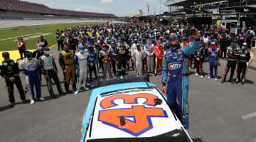 School board member resigns after posts mocking NASCAR's Bubba Wallace