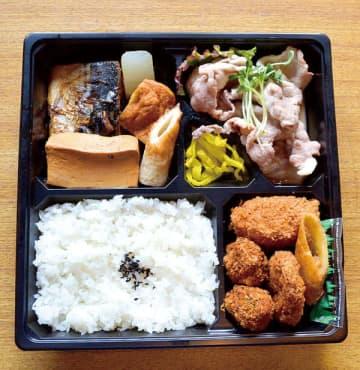 <お持ち帰りグルメ>メニュー豊富でガッツリ 富士見・和食ひで蔵、リピーター多い日替わり幕ノ内弁当