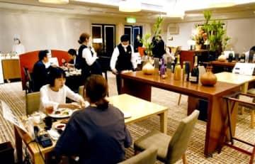 ホテルの味、福井に限定レストラン 7~8月末、ランチでデザート食べ放題