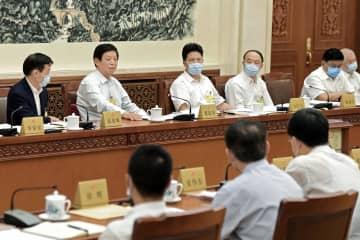 中国が香港国家安全法可決