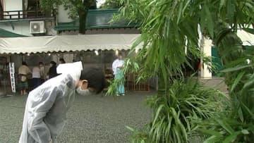 加藤神社で茅の輪くぐり【熊本】
