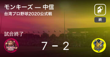 【台湾プロ野球公式戦】モンキーズが中信を破る