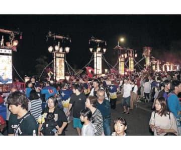 能登のキリコ祭り「全滅」危機 夏開催、22のうち20中止
