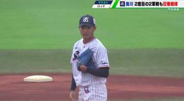 【ヤクルト】奥川恭伸、2度目の二軍戦で自己最速タイの154キロも「長いイニングを投げると思うと...