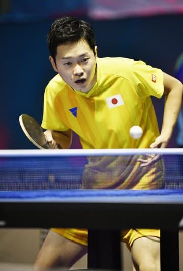 東京パラリンピックの卓球代表に内定した岩渕幸洋=2018年10月、ジャカルタ(共同)