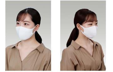 帝人フロンティアの国産「冷感マスク」 7月上旬からオンライン、コンビニなどで販売 画像