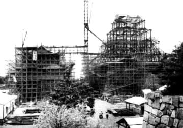 <あのころ>名古屋城を再建