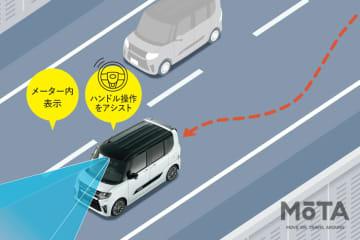 不意のわき見でもドライバーをサポート!最新軽自動車にはもはや当たり前な「車線逸脱防止支援システム」【 I LOVE 軽カー 】