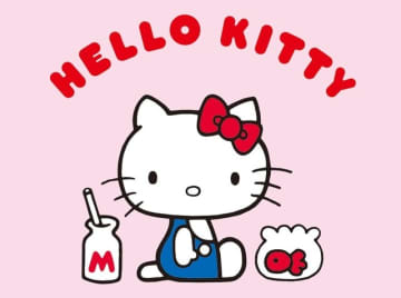 「ハローキティ」成田国際空港内にコラボカフェをオープン! ピンクのカレーにパンケーキでおもてなし♪