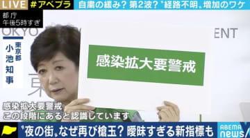 東京の感染者数が連日の100人台…「夜の街を重点的に調べた結果。慌てず冷静な受け止めを」京大・宮沢准教授
