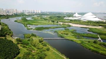 湿地と都市の調和と共生 黒竜江省