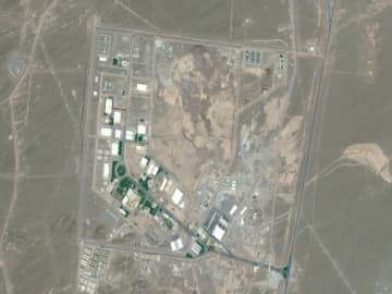 Messages claiming Iran nuclear site fire deepen mystery