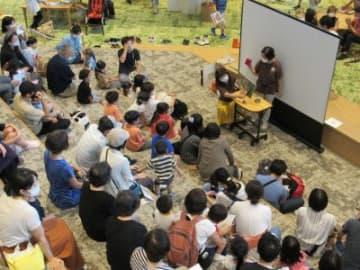 新和歌山市民図書館でイベントスタート