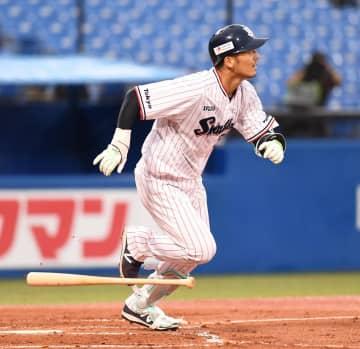 ヤクルト・西浦がまたしても逆転弾 鈴木誠、岡本に並ぶリーグトップの5号