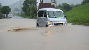 熊本の老人ホームが浸水、14人心肺停止 九州大雨