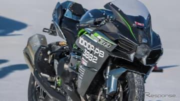 Ninja H2、世界最速記録337.064km/hを樹立したマシン…川崎重工ブランドムービー最新作