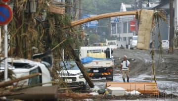 熊本暴雨已導致21人死亡 另有17人心肺停止