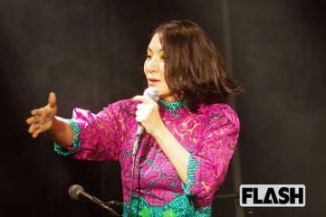 広瀬香美、ライブで「歌ってみた」を披露「自粛中は新曲ゼロ!」