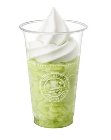 「めちゃくちゃ美味しい」 ミニストップ「ハロハロ果実氷」にメロンが初登場!  画像