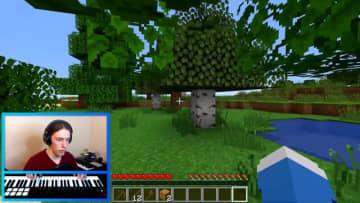 『マインクラフト』をMIDIキーボードで操作!エンディングに到達したプレイヤーが映像公開