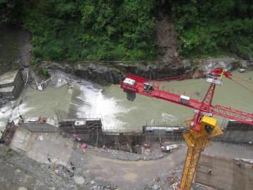 ネパール最大の飲用水事業、中国企業がトンネル掘削完了