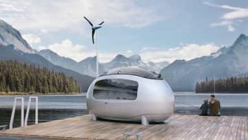 未来の家感がすごい完全自立型マイクロホーム「ecocapsule」。こんな「離れ」が欲しかった!