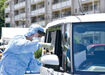 厚木PCR検査センター 睦合分署内に移転スタート 「唾液検査」に変更で負担減