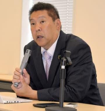 N国・立花氏一転 印西市長選の出馬見送り 自身について「今後選挙出ない」と明言