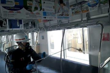 東京メトロ、全車両に抗ウイルス・抗菌措置実施 画像