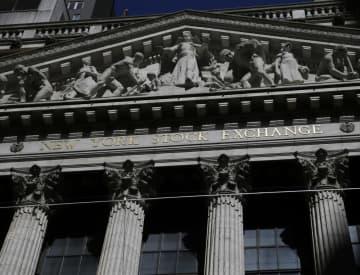 NY株反発、369ドル高 薬に期待、ナスダック最高 画像