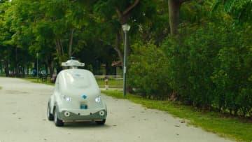 SF世界の監視システム!自律型セキュリティロボット「O-R3」 画像