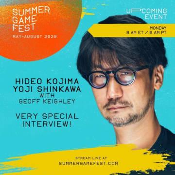 本日7月13日22時からの「Summer Game Fest」に小島監督がリモート出演―PC版『デススト』や近況について語る