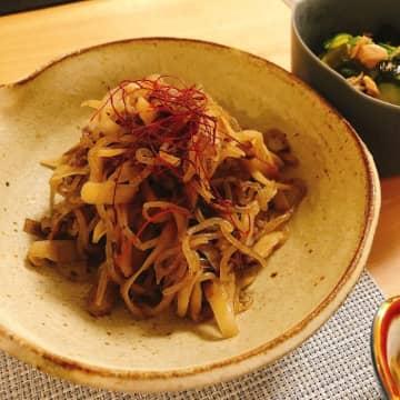 川田裕美アナ、夫からも好評なゴボウ料理を公開「モリモリ食べてくれる」