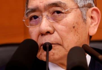 資金繰り支援など3月以降のコロナ対応、効果を発揮している=黒田日銀総裁