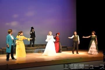 歌声伸びやか 高校生が熱演 前橋のミュージカル同好会が公演