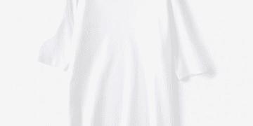 ドゥクラッセTシャツは五分袖ボートネックがイチオシ!プチプラに見えないワケ