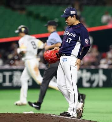 西武松本またも初回複数失点…5回4失点「次回登板はとにかく立ち上がり」