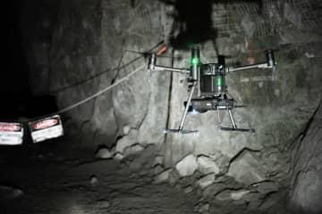 ベロダイン製ライダーセンサーがエメセントのHovermapに搭載され、目視範囲外の飛行を可能に