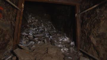 【動画あり】首里城下の旧日本軍壕 爆破された最深部の映像 第32軍壕、11年ぶり撮影