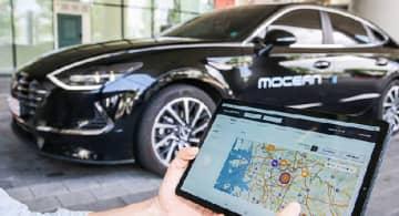 現代自動車グループは、モビリティー事業の強化に向けてロッテレンタルとSKレンタカー、ソカーの3社と業務提携した=韓国(現代自提供)